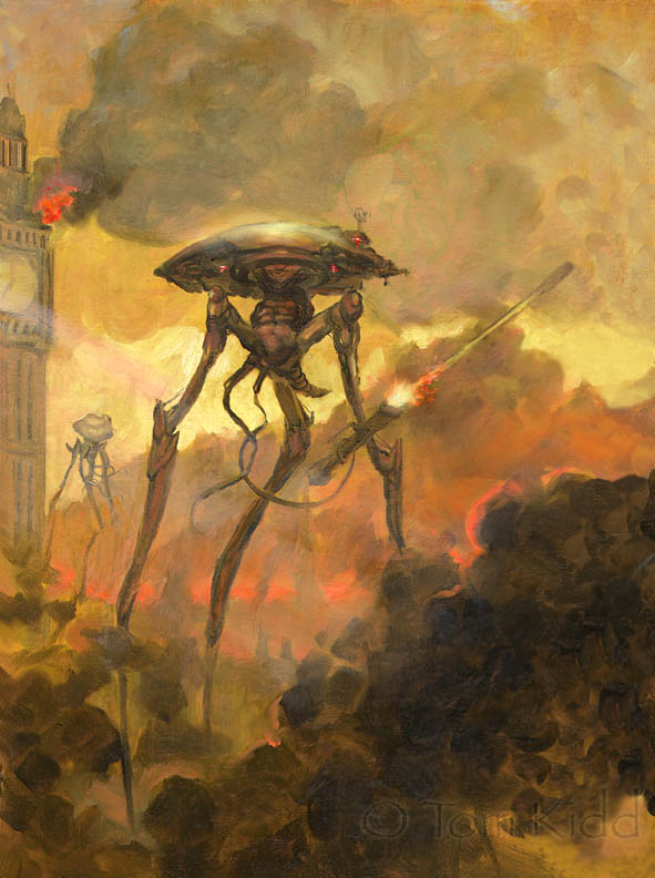 the martian invasion in the novel war of the worlds by hg wells The complete war of the worlds: mars' invasion of earth from hg wells to orson welles / edited by brian  book two – the earth under the martians.